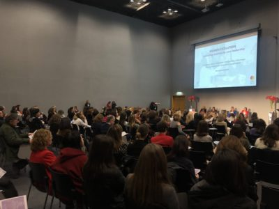 Más de 300 directivas de Madrid dan la bienvenida a Women Evolution.