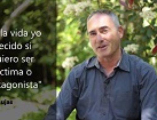 «En la vida yo decido si quiero ser víctima o protagonista» Vicenç Alujas