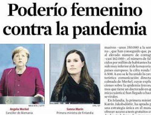 Liderazgos Femeninos, gestionando la pandemia del COVID19