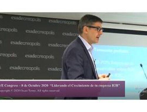 «El B2B no va de productos, va de personas» Oscar Torres en We Congress