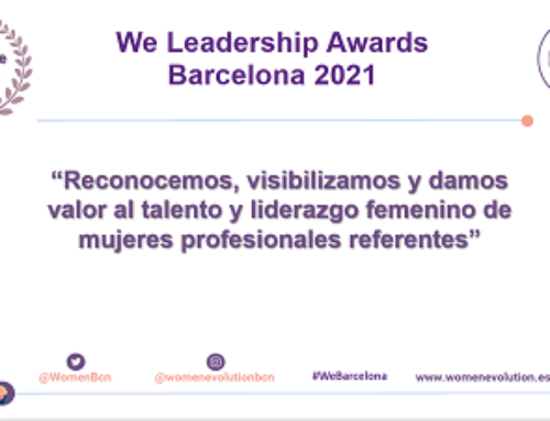 We Leadership Awards Barcelona 2021